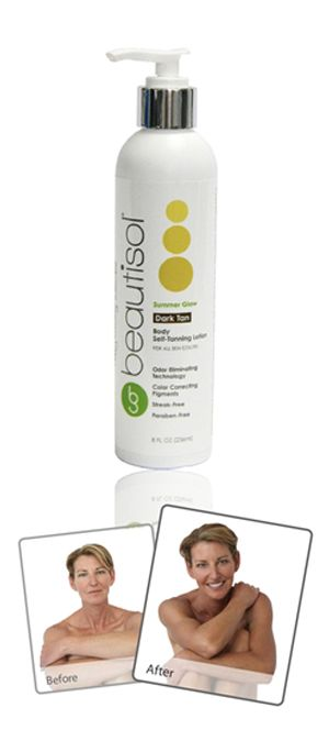 Beautisol Dark Self Tanning Lotion good for pasty white skin trying to bronze (during winter months?)