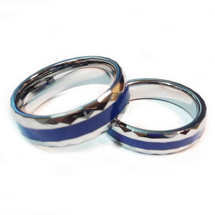 Law Enforcement Blue Line Ring
