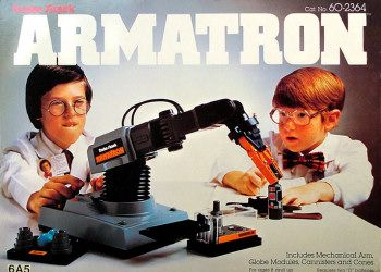 Armatron.  Sadly, I was too old for it in the 80's.  However, if I had it now it would be considered retro!