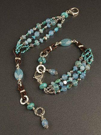 gorgeous multi strand bracelet