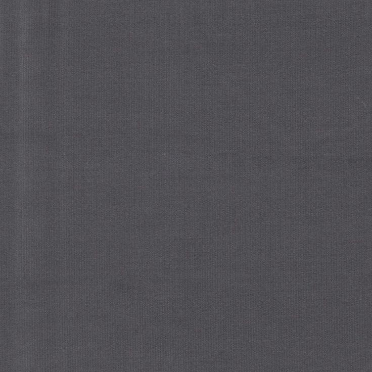 Plain Babycord 21 Whale - Grey 47