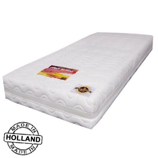 Minnesskum! Slaaploods Queen de Luxe - Matras - 70x200x25 cm - Hard