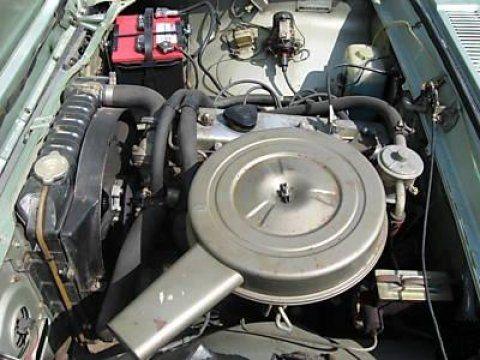 1969 Toyota Corona Delux Hardtop Engine