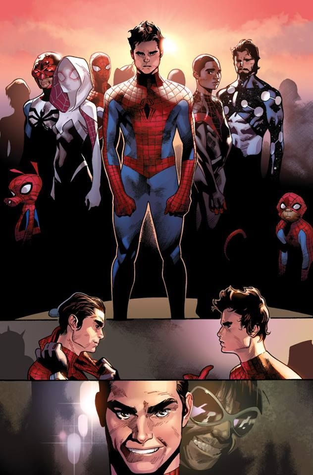 Spider-Verse: Amazing Spider-Man vs. Superior Spider-Man by Olivier Coipel, colours by Justin Ponsor * Trap Music Radio http://www.slaughdaradio.com