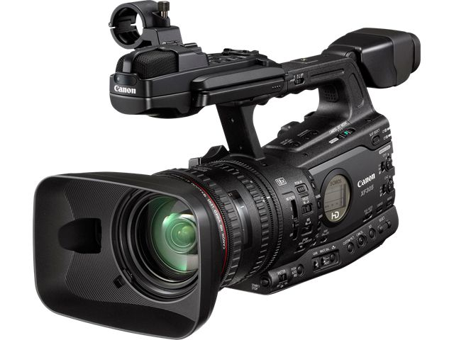 Canon XF305 Professional High Definition Digital Video Camera: Digital Video Cameras 4