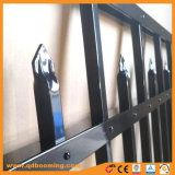 Black Powder Caoted Pupply Picket Fence Panel to USA