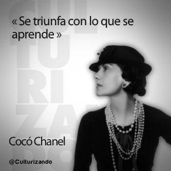 Frases célebres de Coco Chanel.