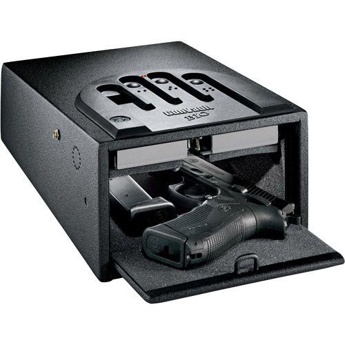 Gun safe with fingerprint ID