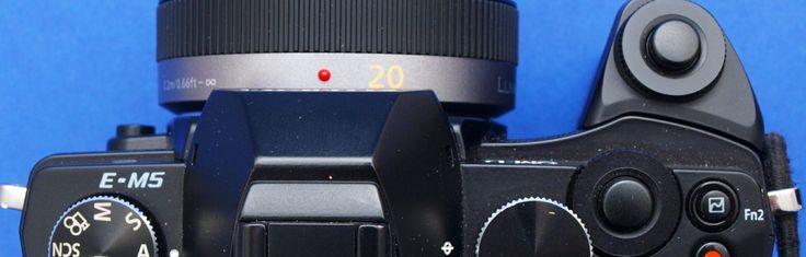 Das Panasonic-Objektiv 20mm f1.7 an der Olympus OM-D EM-5