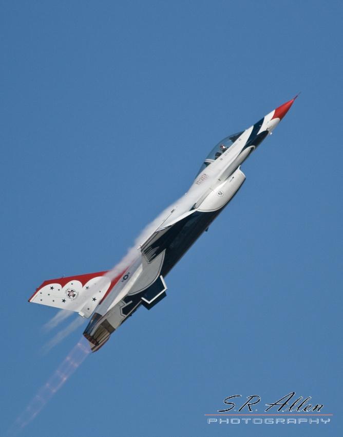 USAF Thunderbirds Homestead, Fl S.R Allen Photography