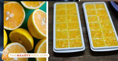 freezing lemons
