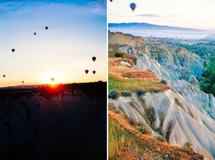 A Balloon Ride over Cappadocia, Turkey : Hope Engaged