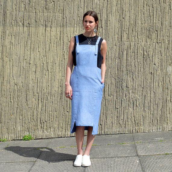 Hoi! Ik heb een geweldige listing op Etsy gevonden: https://www.etsy.com/nl/listing/292634029/handgemaakte-blauw-schort-jurk-gemaakt