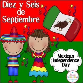 Mexican Independence Day; Diez y Seis de SeptiembreDiez y Seis is a holiday celebrated even more than Cinco de Mayo by Mexican Americans. I've provided an interactive powerpoint which is great an informational text and cultural heritage study. This powerpoint includes:- general information about Mexico and it's flag- history of the Mexican Independence- other celebrations- online resources- Spanish terms and gamesTake a look at my Cinco de Mayo activity in my store.I hope you enjoy this…