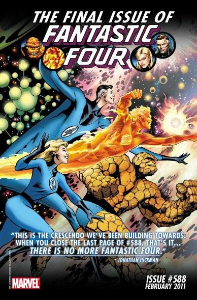The landmark Final edition of the Fantastic Four