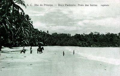 Resultado de imagem para postais antigos ilha do principe