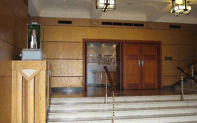 Empire Theatre entry and foyer refurbishment. RW Joiners
