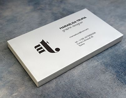"Check out new work on my @Behance portfolio: ""Business Card - Mariaelisa Trupia"" http://on.be.net/1MtCtly"