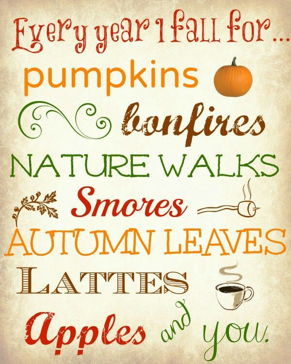 Cute Quote Fall Themed Good For Kitchen Or Den