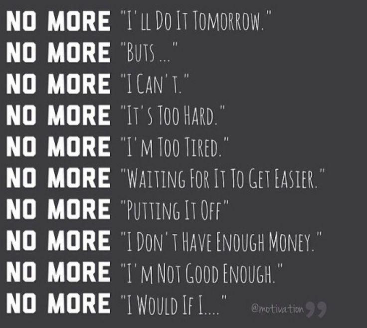 No Excuses                                                       …