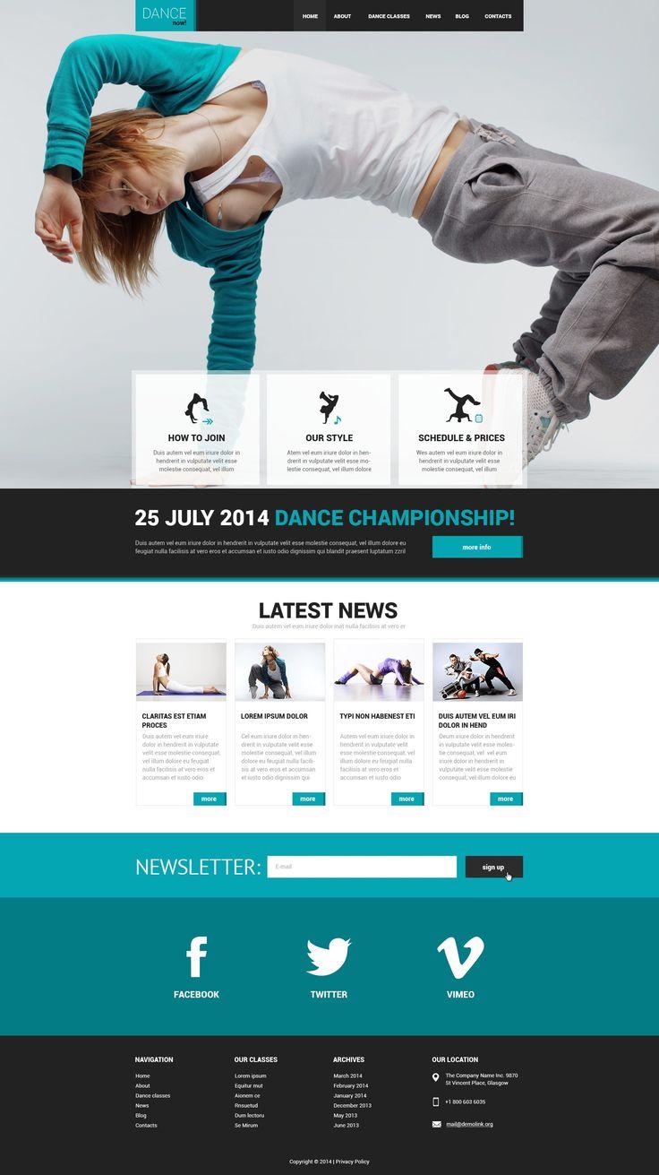 Mejores 541 imágenes de Webdesign en Pinterest | Diseño web, Diseños ...
