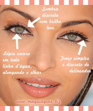 Confira 12 dicas de maquiagem para olhos grandes: Como realçar ou disfarçar olhos muito grandes, saltados ou fundos com produtos que você tem em casa!