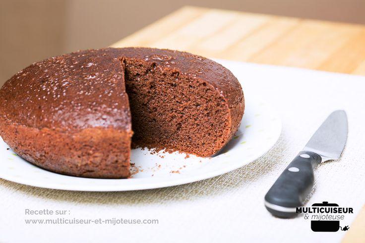 Gâteau au chocolat et zestes d'orange au multicuiseur