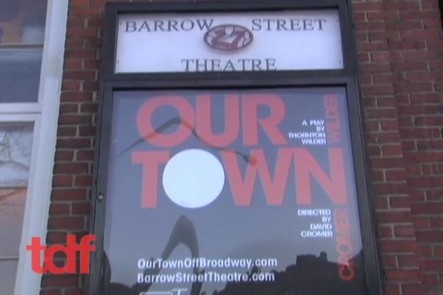 "500 Nights in ""Our Town"" by Theatre Development Fund (tdf). Actor Keith Perry sets a record with Thornton Wilder's classic play"