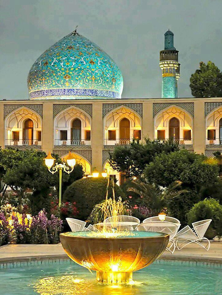 Iran - Abassi Hotel, The oldest hotel in the world (320 years old) Isfahan, Iran