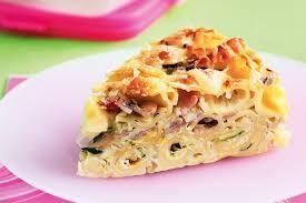 Ham and Vegetable Pasta Bake