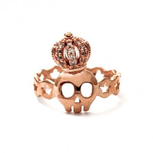 Tiny The King Yüzük #tarz #designer #tiny #the #king #ring #bronze #crown #skull #stony #rocky #original #interesting #tasarım #moda #tasarımcı #design #style #fashion #stylish #chic