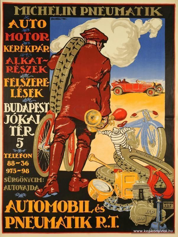 Michelin Pneumatik Budapest 1926