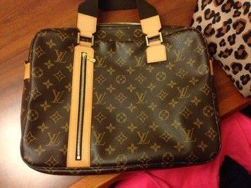 Louis Vuitton Sac Bosphore Laptop Bag $810