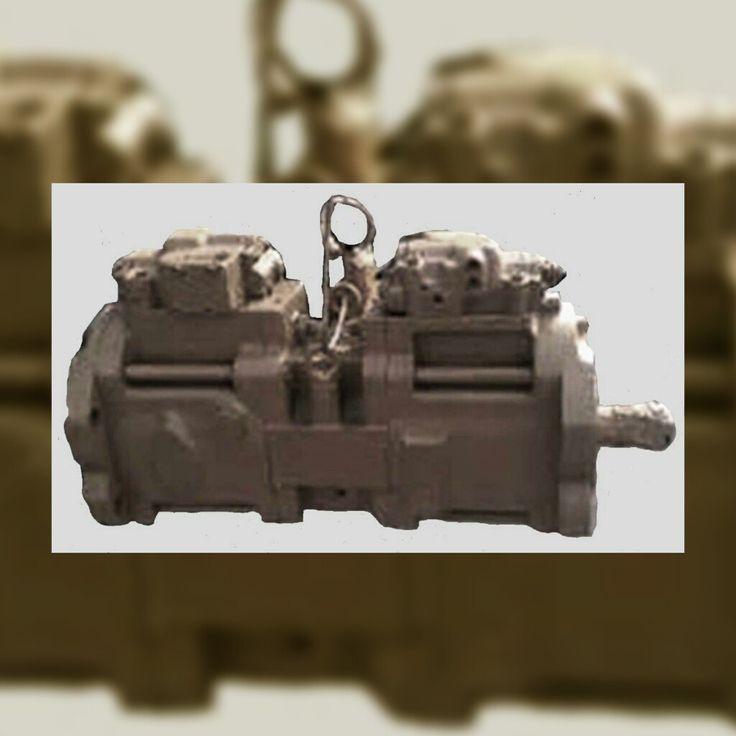 Case Excavator 9050B Hydrostatic Main Pump (M11-C265) Repair