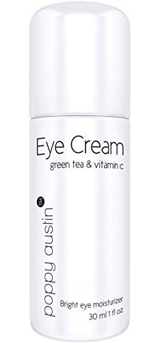 Poppy Austin Best Eye Cream for Dark Circles and Puffiness. A 100% Natural Eye Cream with Organic Moisturizers. Enriched with Green Tea, Vitamin C, Rosehip & Organic JoJoba Oil. Double Size 1 oz Poppy Austin http://smile.amazon.com/dp/B00NR4BIZM/ref=cm_sw_r_pi_dp_jrJvwb07C9K5Q