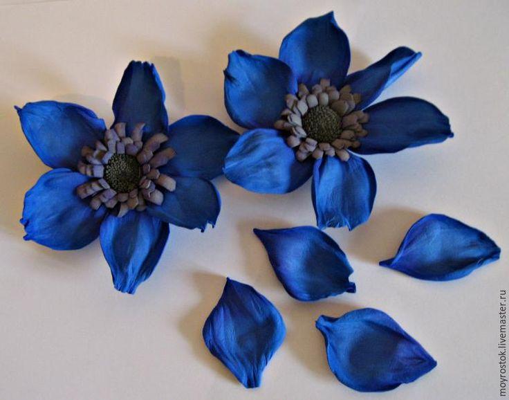 цветок из фоама