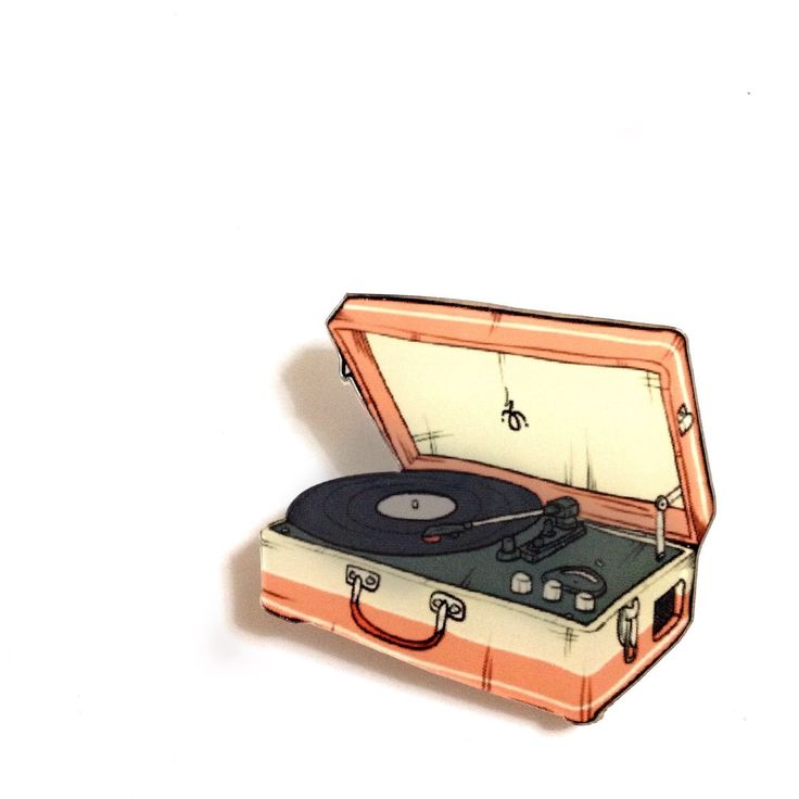 Vintage Retro Suitcase Record Player 1960-1970 Style Vinyl Record Player Acrylic Brooch Backpack Pin Cool Gift Idea #Etsy #Share #EtsyShop Shared by #BaliTribalJewelry http://etsy.me/1sDZ302