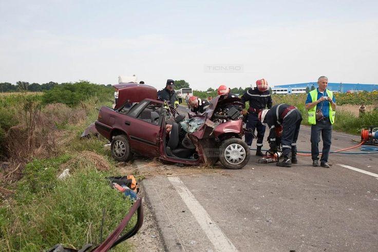 Accident mortal pe DN 59, la iesire din localitatea Sag