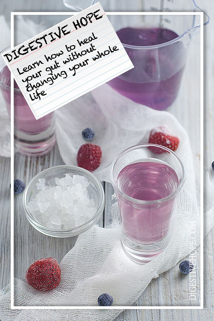 GUT HEALTH 101 -   Raspberry and Blueberry Kefir from www.digestivehope.com