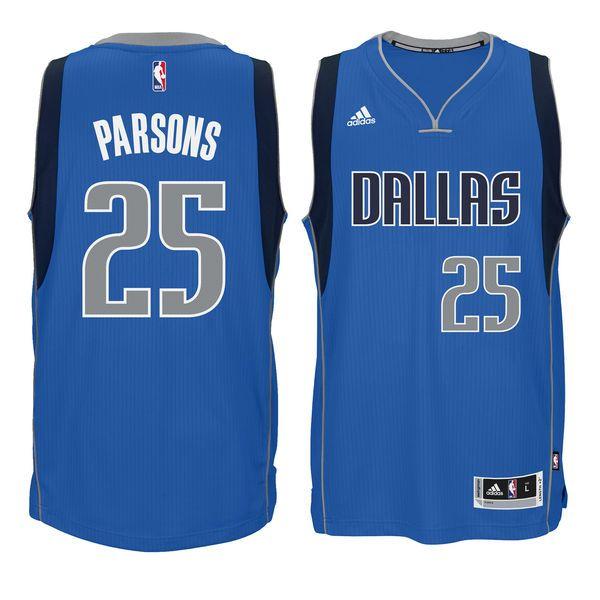 Chandler Parsons Dallas Mavericks adidas Swingman climacool Jersey - Blue - $65.99