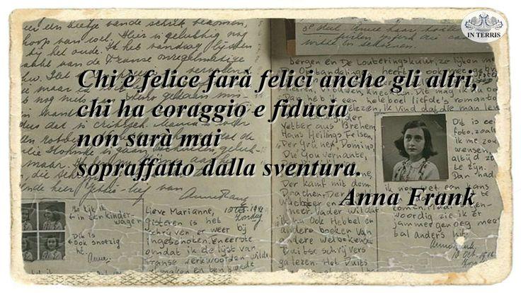 #buongiorno #4agosto Seguici su --> www.interris.it #notizie #news #AnnaFrank #olocausto #felicità #coraggio