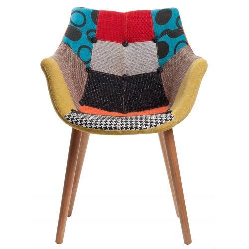 Mooi gevonden op fonQ.nl: Zuiver Eleven stoel Patchwork #fonQ #chair