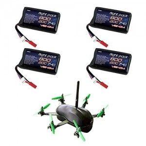 TBS-Gemini-RC-Drone-Quad-20C-2S-800mAh-74V-LiPO-Battery-by-Venom-4-Pack-by-Venom-0