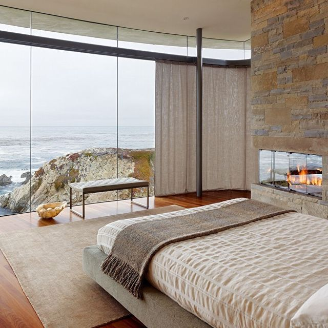 .Ocean Views, Contemporary Bedroom, Window Bed View, Cove Resident, Dream Bedrooms, Dream Houses, Bedrooms View, Bedroom Designs, Windows View