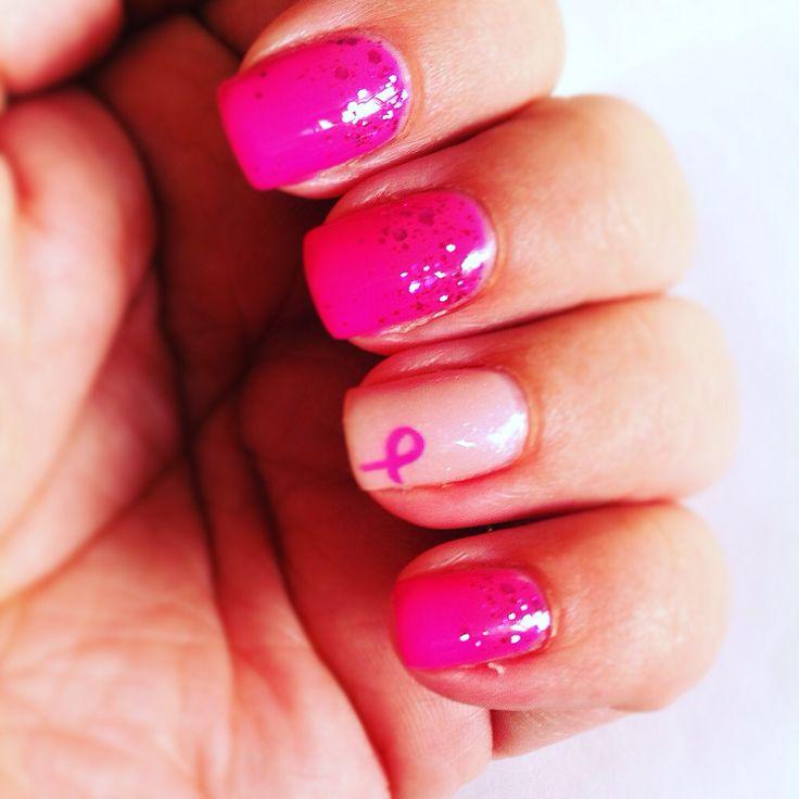 #nailbreastcancer #futuredreamshavenappeal #breastcancerawarenessmonth #gelpolish #shellac #nailart #pinknails