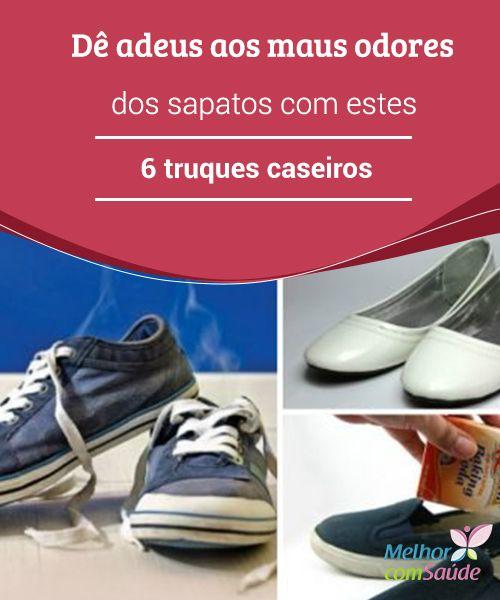 Dê adeus aos maus #odores dos sapatos com estes 6 truques caseiros  Para conseguir melhores resultados na hora de #higienizar os #sapatos e acabar com os maus odores, é fundamental deixar os #remédios agirem por várias horas.