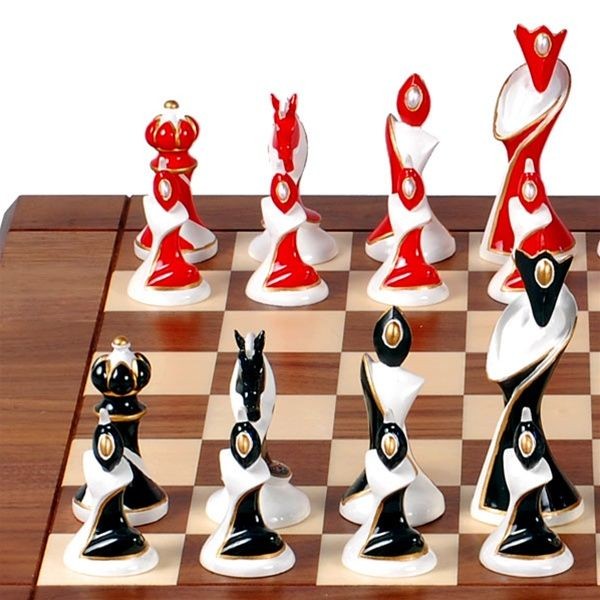 Art Deco Chess Set
