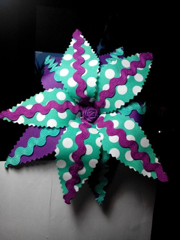 Mis creaciones flor flamenca