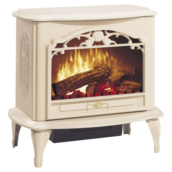 Celeste Electric Stove - we have one in our family room - makes movie nights so cozy!