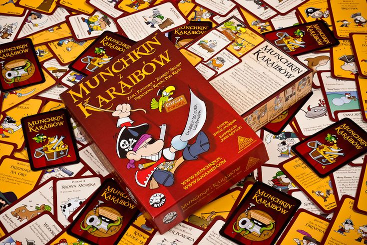 Polish versions of Munchkin games for Black Monk Games